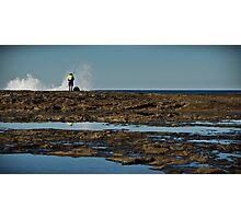 Fishing at Iluka Photographic Print