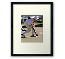 M.B.A. Bowler no. a227 Framed Print