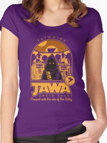 Jawa Droid Sales Women's Fitted Scoop T-Shirt