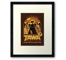 Jawa Droid Sales Framed Print