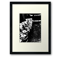 An Empty or Two Framed Print
