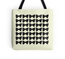 Many Bow Ties- Black Tote Bag