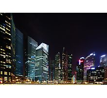 Singapore Skyline Photographic Print