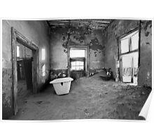 Abandoned in Kolmanskop Poster