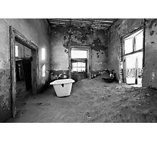 Abandoned in Kolmanskop Photographic Print