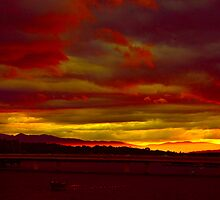 Canberra Sundown by Matt Hill