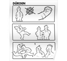 Durden Instructions Poster