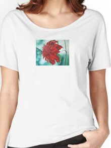 Red in Fury Women's Relaxed Fit T-Shirt