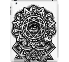 Eye of God Flower Mandala iPad Case/Skin