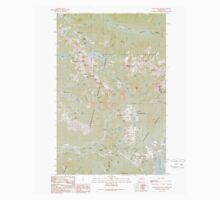 USGS Topo Map Washington State WA Snoqualmie Pass 243837 1989 24000 One Piece - Short Sleeve