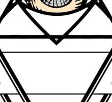Diamond Sacred Heart Geometry Sticker