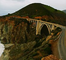 #1089   The Bixby Bridge by MyInnereyeMike