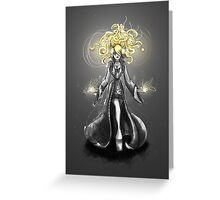 Rainbow Punk: Gothic Gold Greeting Card