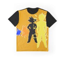Goku- Time Will Tell Graphic T-Shirt