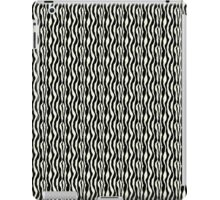 Black and White Zebra Pattern Print iPad Case/Skin