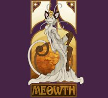 Rule 63: Meowth Womens Fitted T-Shirt