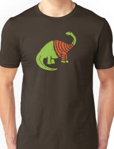 Brontosaurus in a Sweater  Unisex T-Shirt