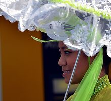 Parasol Girl - Pako Fest Geelong by bekyimage
