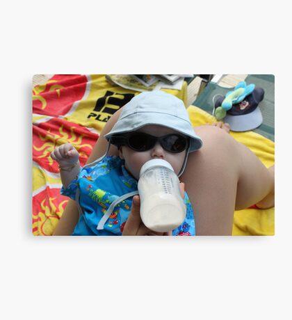 Sommer og sol Canvas Print
