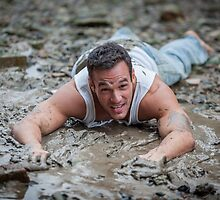Dirty Model at Low Tide with John by GrahamMartin