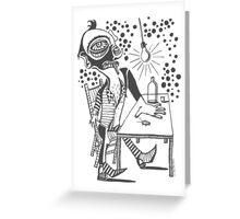 Roachman Greeting Card