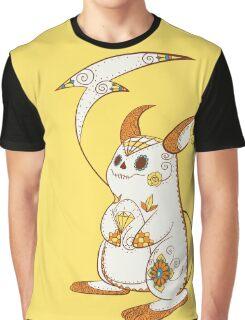 Raichu Pokemuerto | Pokemon & Day of The Dead Mashup Graphic T-Shirt
