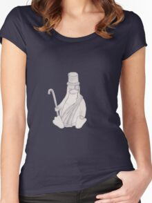 Tux the Penguin Women's Fitted Scoop T-Shirt