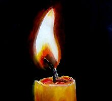 The Candle Flame by sricha
