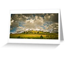 Clouds and a Hill Greeting Card