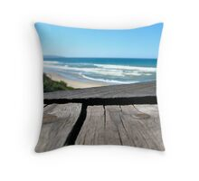 Ocean View from a Different Perspective  Throw Pillow
