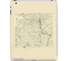 September 13 1944 World War II Twelfth Army Group Situation Map iPad Case/Skin