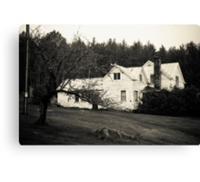 The Farm is a Place where You Actually Spend Money to Wallow in Manure Canvas Print