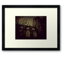 Haunted Honeymoon Framed Print