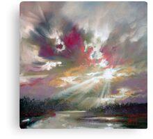 Loch Light Canvas Print