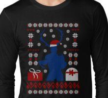 Ugly Christmas Sweater - WENDIGO Long Sleeve T-Shirt