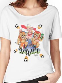 Let's Go DUTCH! (Great Balls of Fire:-)) Women's Relaxed Fit T-Shirt