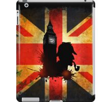 Sherlock Holmes in London - Vintage iPad Case/Skin