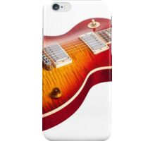 Les Paul Guitar Cherry Sunburst iPhone Case/Skin