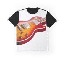 Les Paul Guitar Cherry Sunburst Graphic T-Shirt