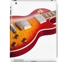Les Paul Guitar Cherry Sunburst iPad Case/Skin