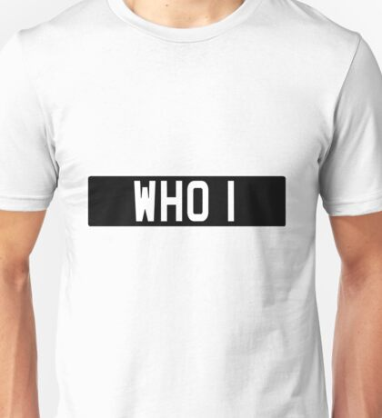 Doctor Who Bessie Numberplate Unisex T-Shirt