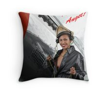 RED-TAIL ANGEL ! Throw Pillow