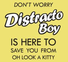 Distracto Boy Is Here! Oh Look A Kitty Kids Clothes