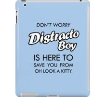 Distracto Boy Is Here! Oh Look A Kitty iPad Case/Skin