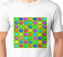 Sheep of many colours Unisex T-Shirt