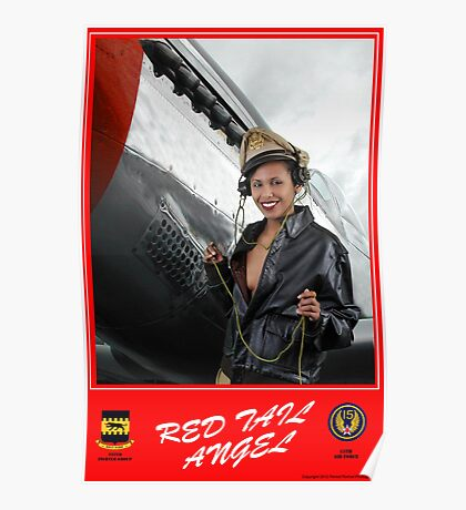RED-TAIL ANGEL -The Poster Poster