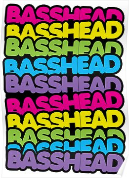 Basshead (rainbow) by DropBass