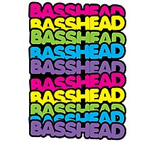 Basshead (rainbow) Photographic Print