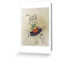 Blooming Dresses Greeting Card