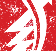Distressed classic Zündapp emblem Sticker